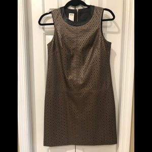 Cocktail dress leather